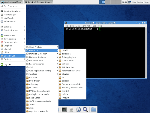 Fedora Spin Security - Linux Pentest