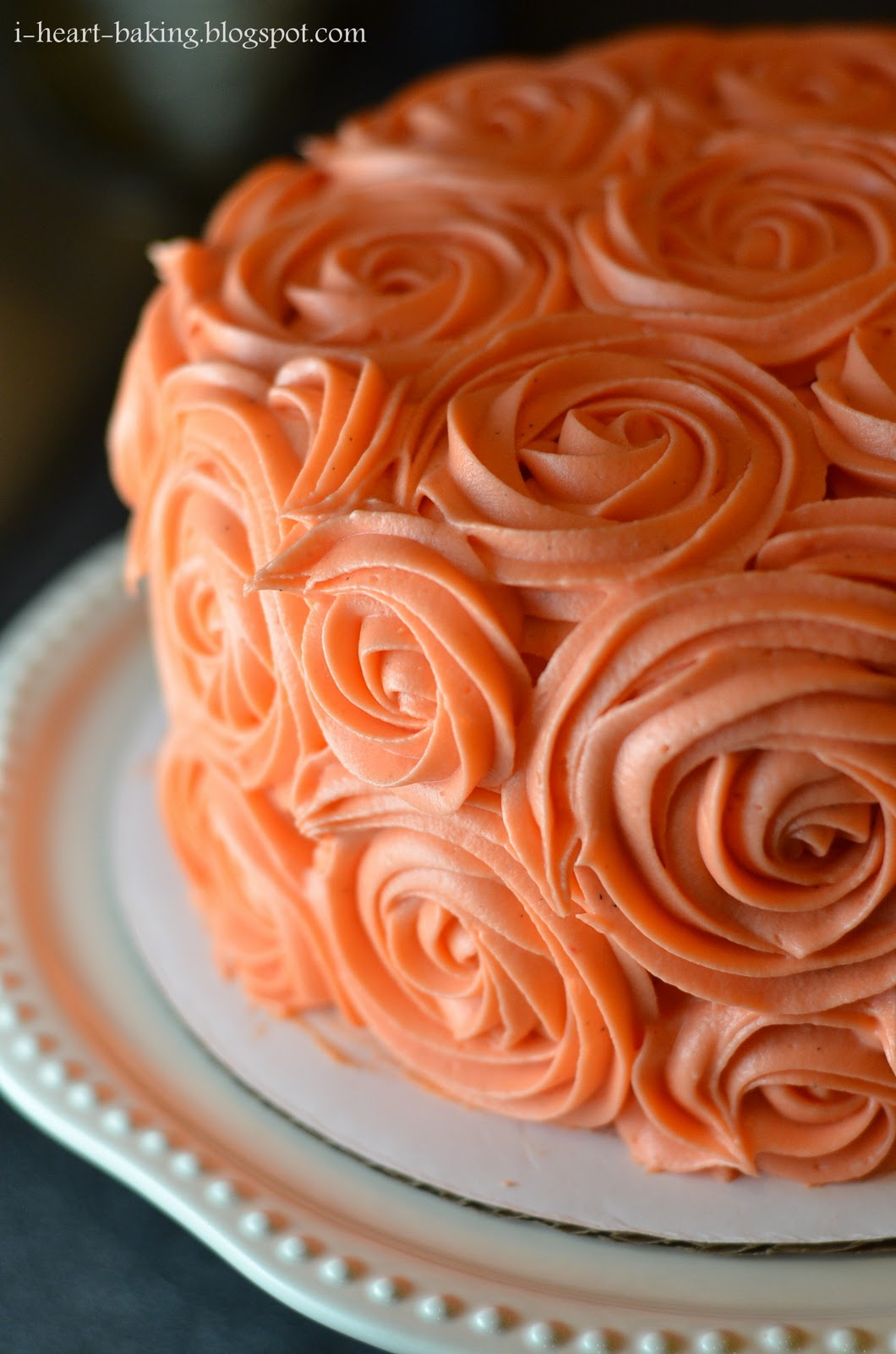 Ginger Cake With Orange Icing