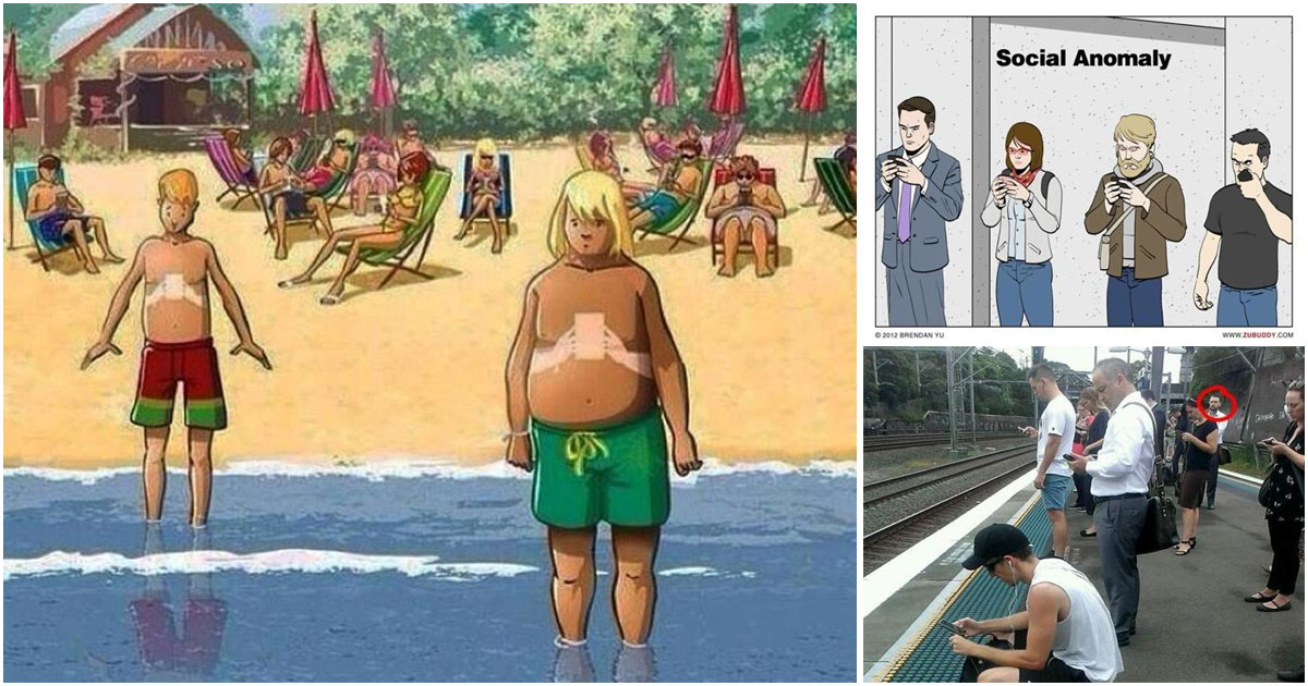 25 Pictures That Prove Technology Is Ruining Society