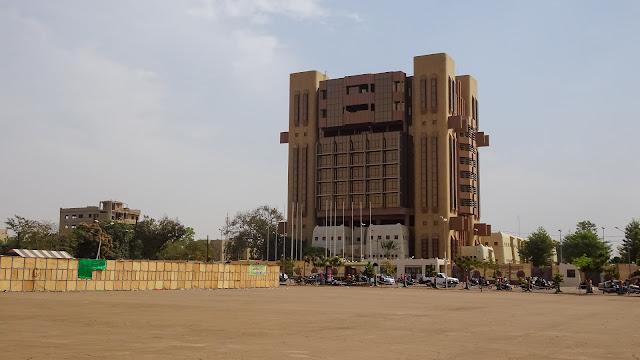 The headquarter stands in Ouagadougou