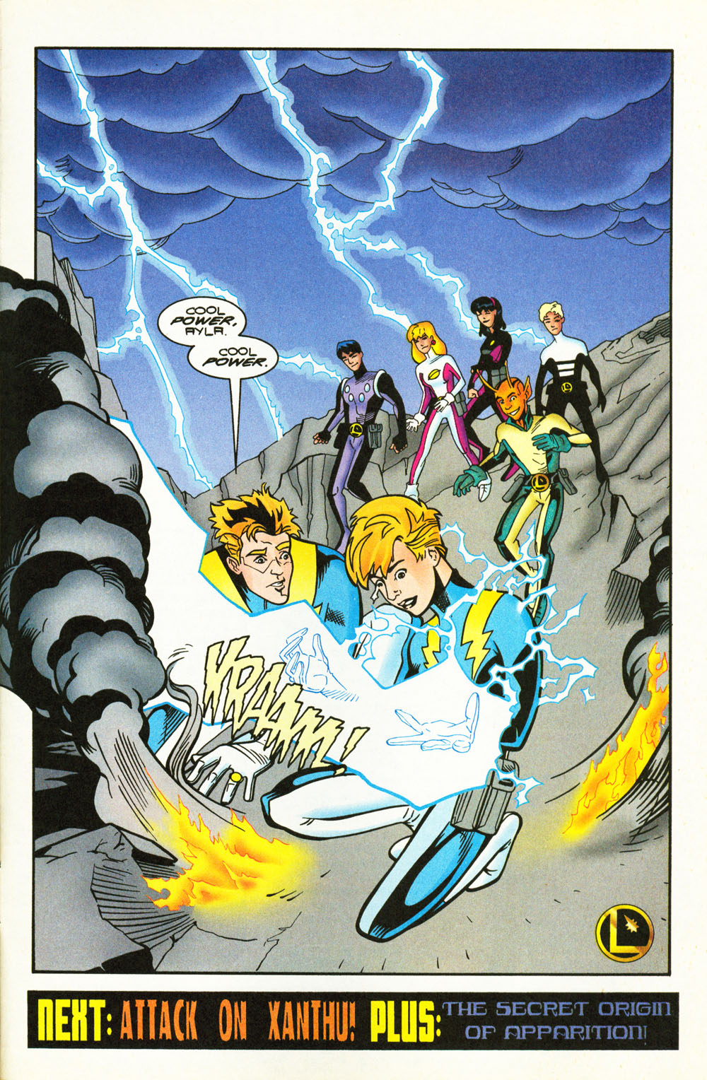 Legion of Super-Heroes (1989) 101 Page 22