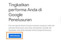 Cara Mendaftarkan Blog ke Google Webmaster Tools 2019
