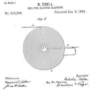 Tesla bifilar coil