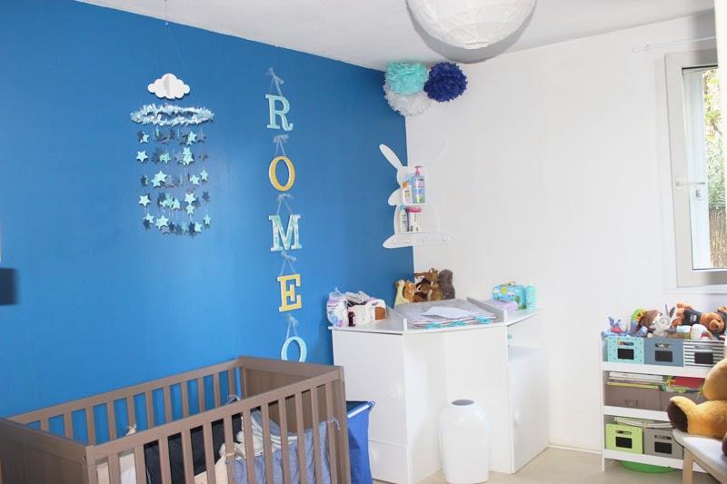 Chambre Bébé Bleu Ciel
