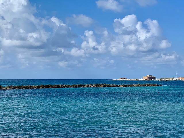 Paphos harbour view, Cyprus