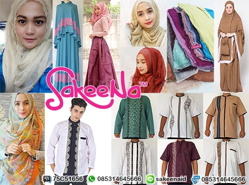 Grosir Baju Busana Muslim Murah Online Model Terbaru  ca7d4251fa