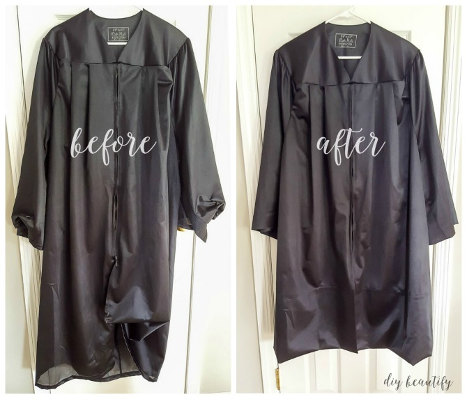 easy grad gown alterations