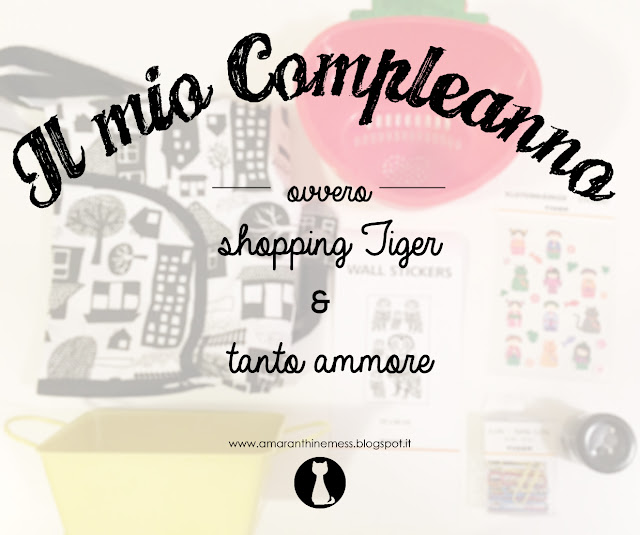 compleanno shopping tiger amore