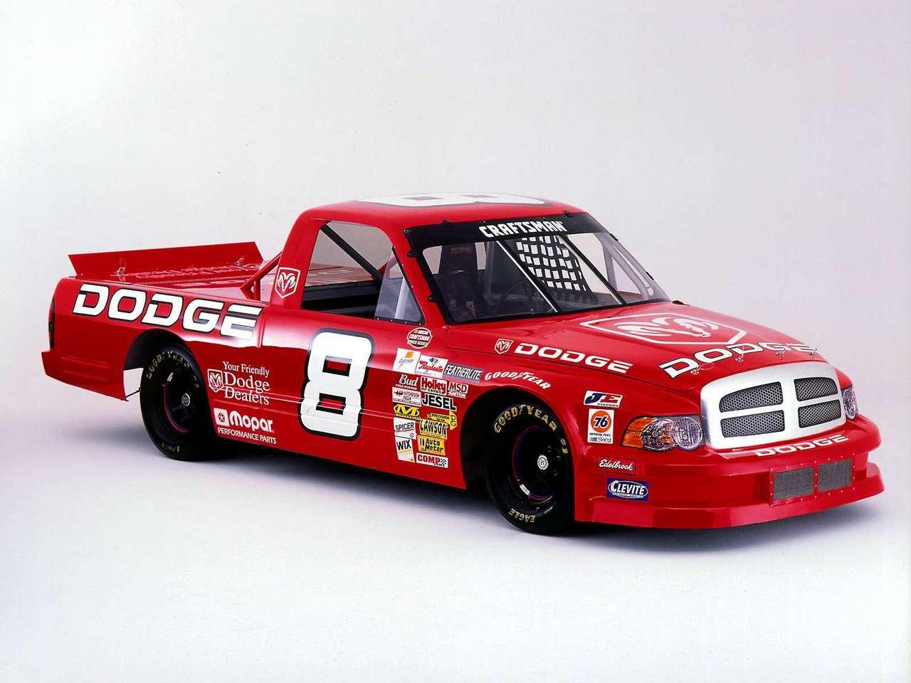 Dodge Ram Nascar Craftsman Truck Series 2002