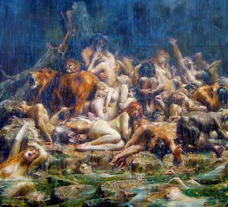 Le déluge, by Léon Comerre (alt.)