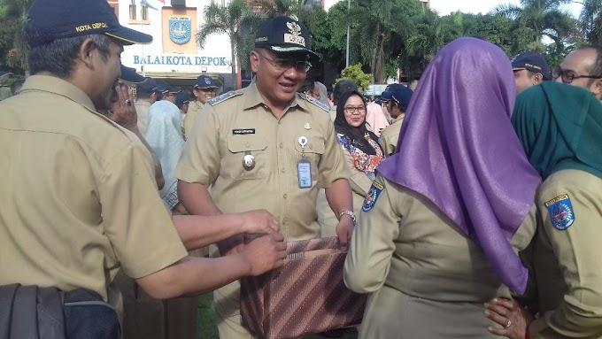 ASN Depok Galang Dana Bantu Korban Tsunami Banten Lampung