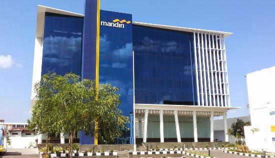 Bekasi, Cikarang, Jawa Barat, Kantor Bank Mandiri,