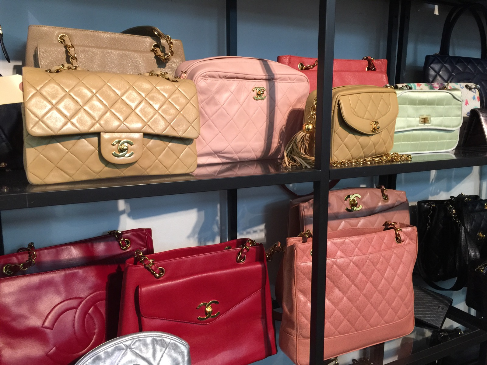 6add47523bc7 Chanel Overload At What Goes Around Comes Around Sample Sale ...