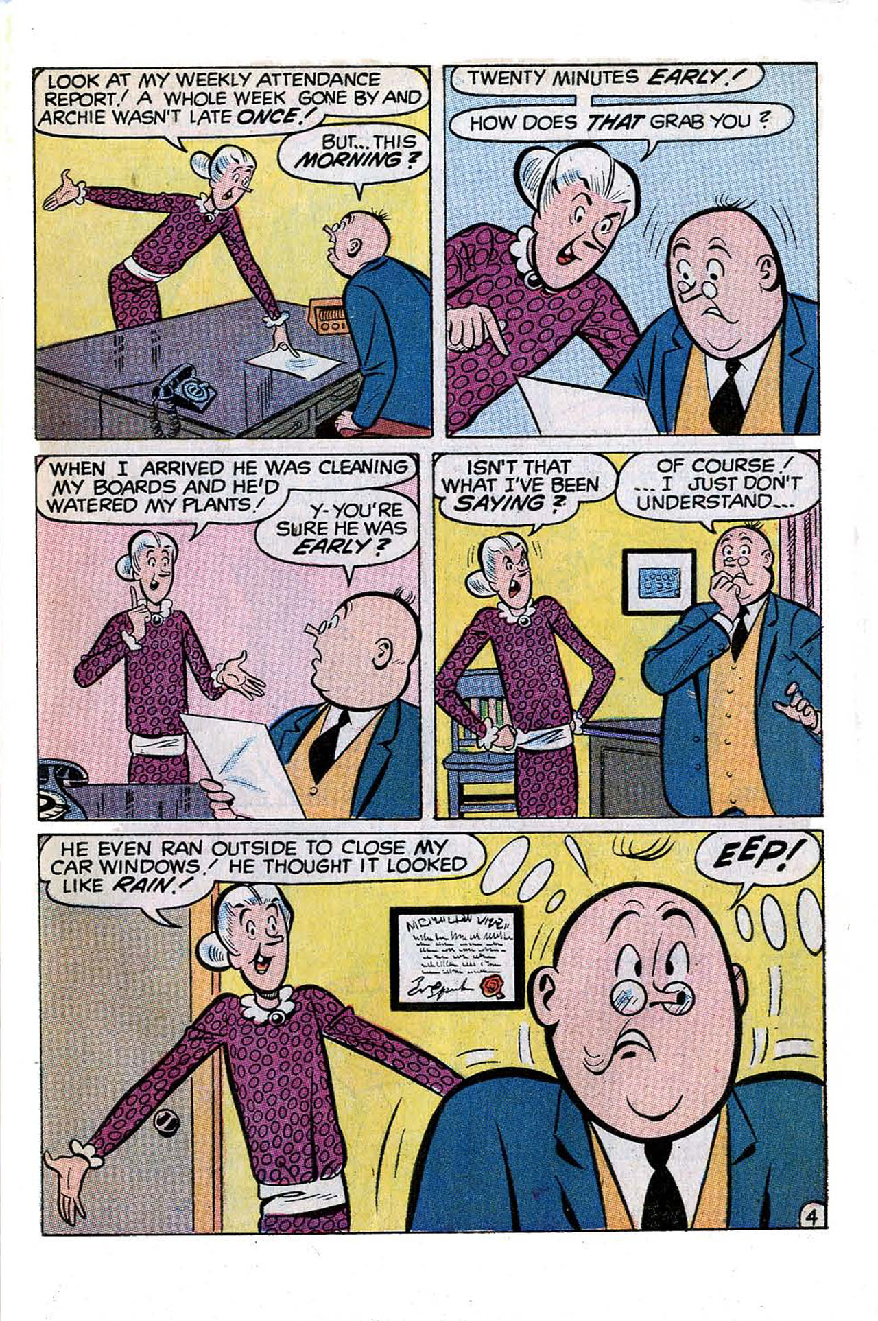 Read online Archie (1960) comic -  Issue #197 - 31