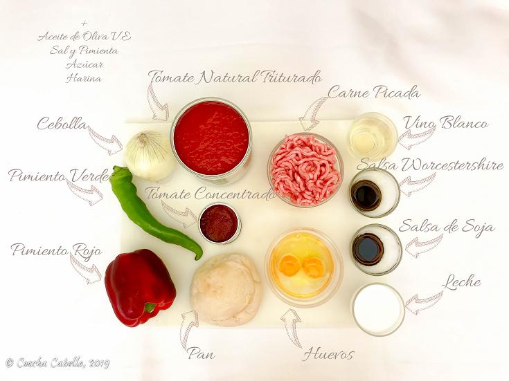 albóndigas-salsa-tomate-mise