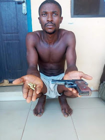 University Student arrested with gun in Benue State confesses to being a cultist