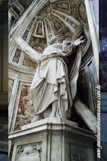 santo andrea basilica sao pedro vaticano guia portugues - Cinco obras de arte da Basílica de São Pedro
