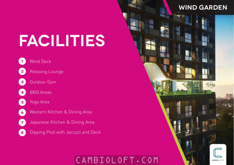 Cambio Lofts Alam Sutera Apartment Facilities