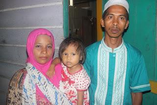 Keluarga Penderita Bocor Jantung Butuh Donasi Masyarakat Aceh