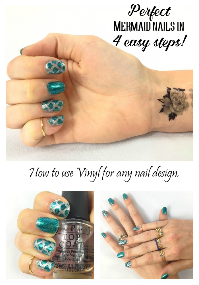 Easy Nail Art Decals with your Cricut - Abbi Kirsten Collections
