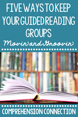 If you're needing help with your guided reading routine, check out this post and other posts from The Reading Crew team, a group of literacy bloggers, for help and support.