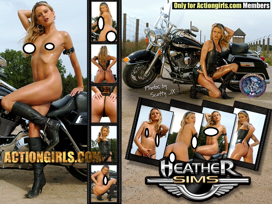 Can you action girls heather sims remarkable, the