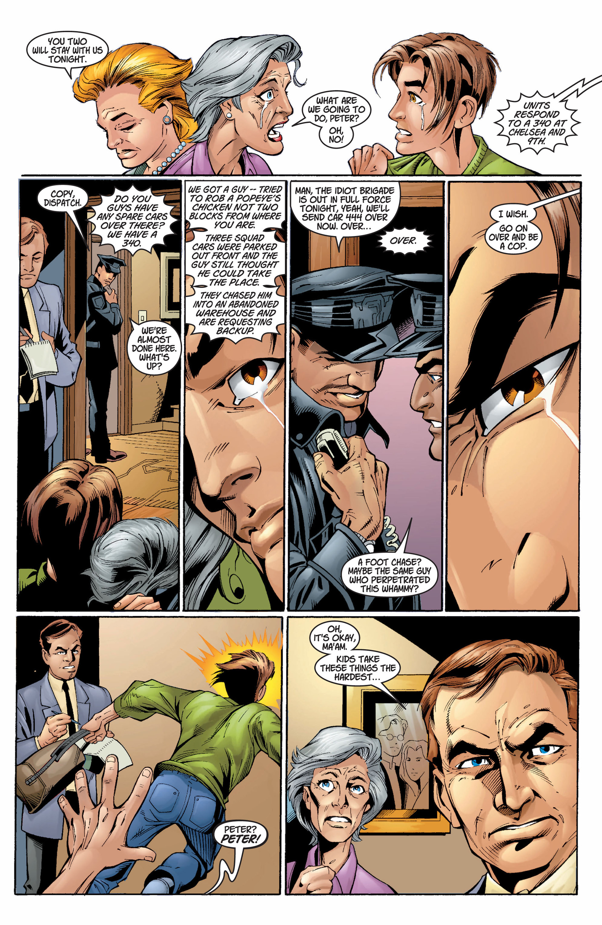 Read online Ultimate Spider-Man (2000) comic -  Issue #5 - 8