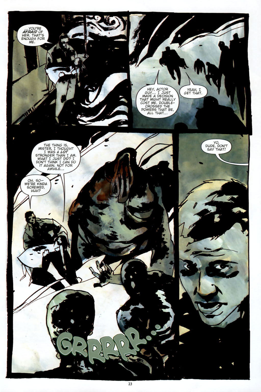 Read online Silent Hill: Dead/Alive comic -  Issue #2 - 25