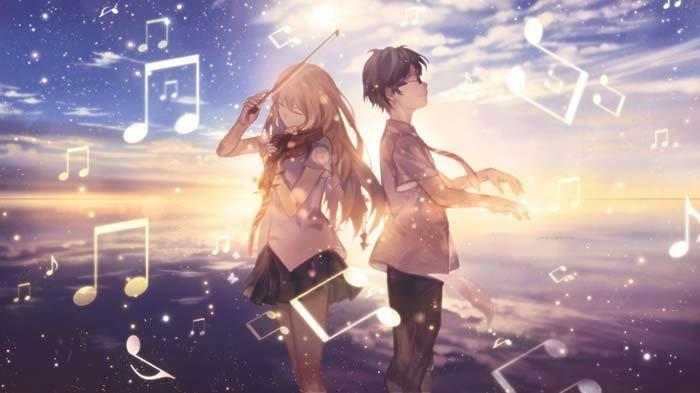 Shigatsu wa Kimi no Uso, Rekomendasi Anime Musikal/Musik/Music Terbaik