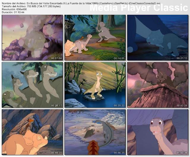 En busca del valle encantado III: La fuente de la vida (1995) | Capturas de pantalla
