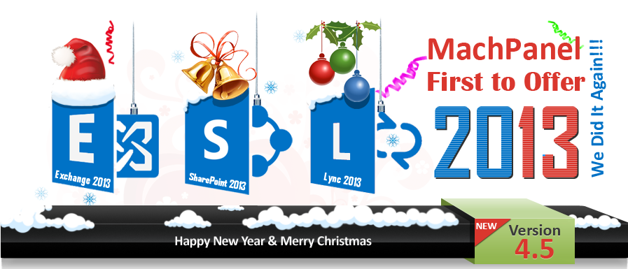 Exchange 2013 - SharePoint 2013 - Lync 2013