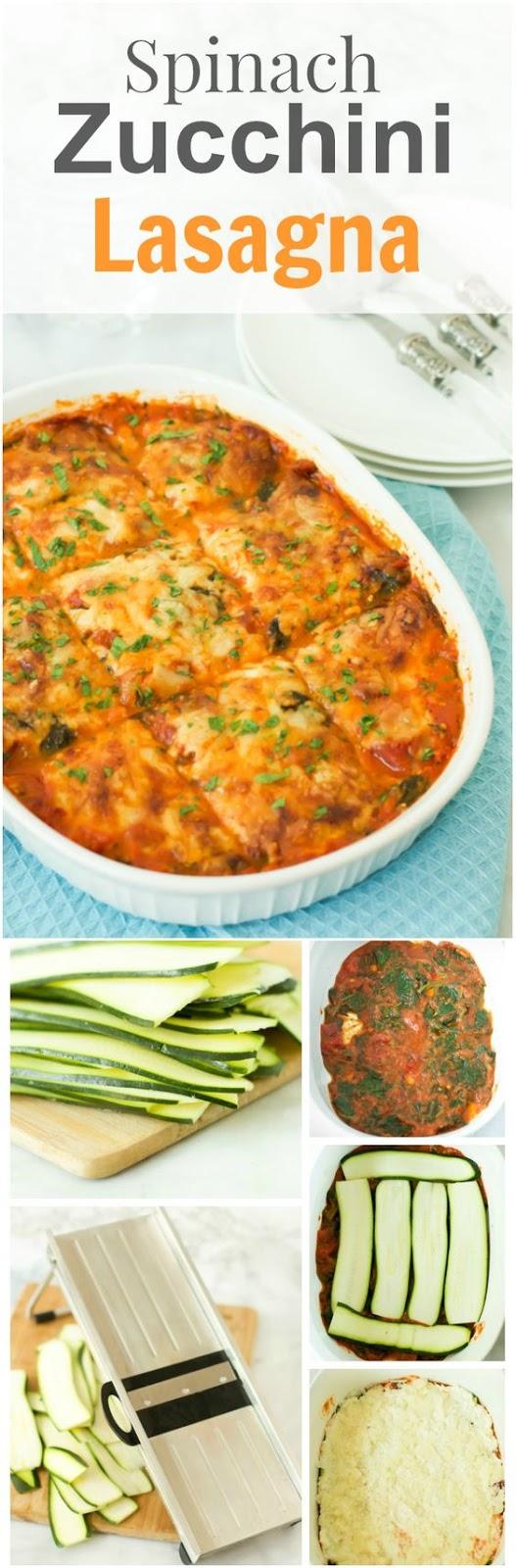 Spinach and Zucchini Lasagna Recipe