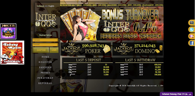 INTERQQ.COM AGEN JUDI DOMINO QIUQIU99 INDONESIA TERPERCAYA