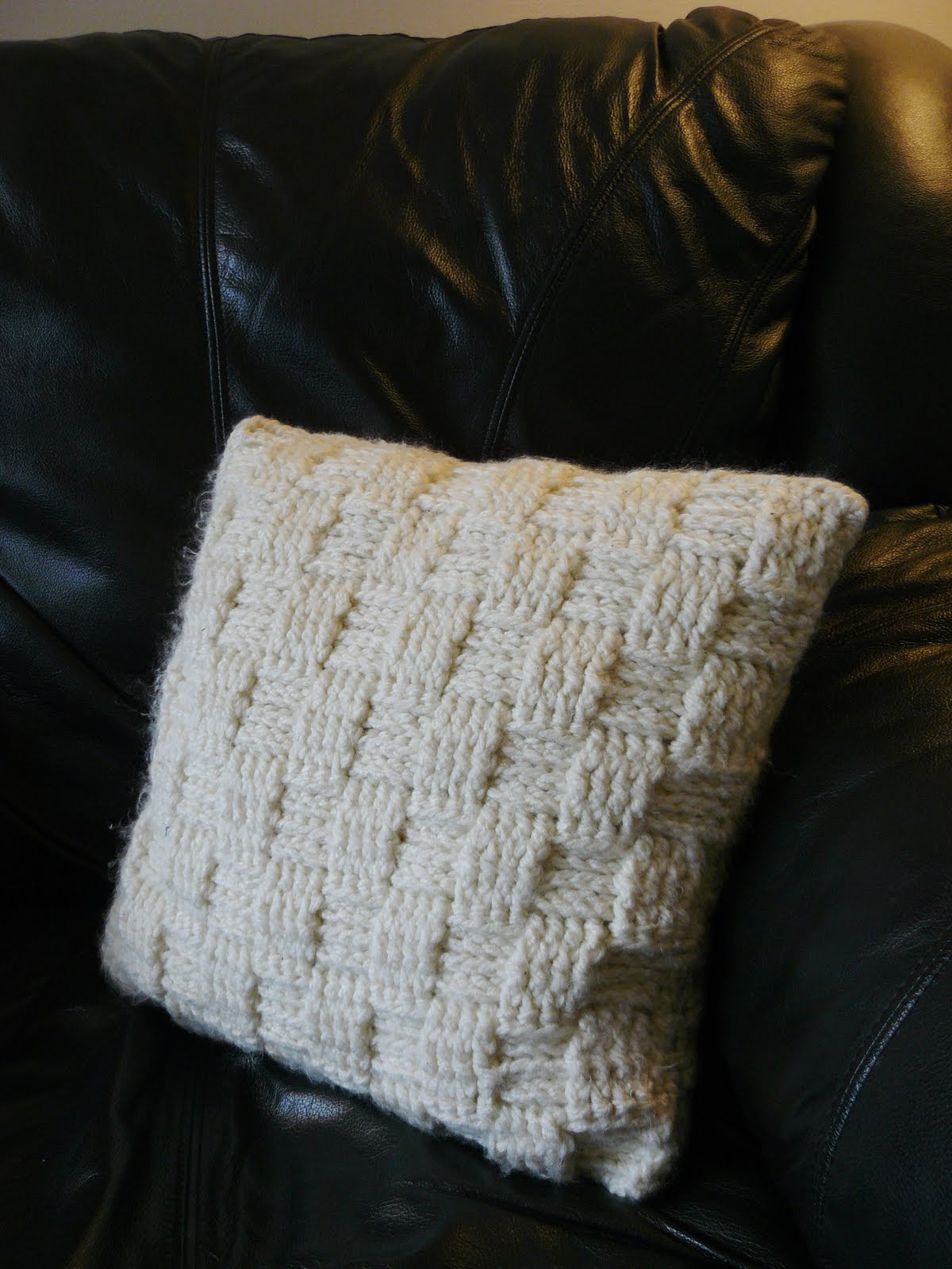 The Woven Home Crochet Projects Pillow
