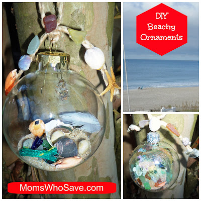 DIY Beach Ornaments -- A Fun Way to Remember Your Beach Trip!