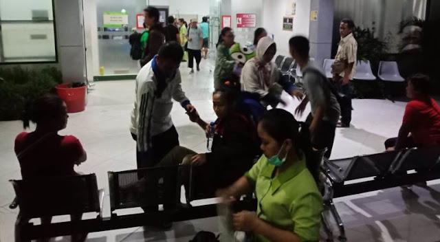 BREAKING NEWS! Gempa Lagi di Palu, Pasien Berhamburan Keluar Rumah Sakit