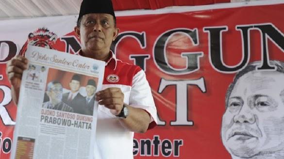 Prabowo Akan Mundur Kalau Hal Ini Terjadi, Djoko Santoso : Saya Dukung!