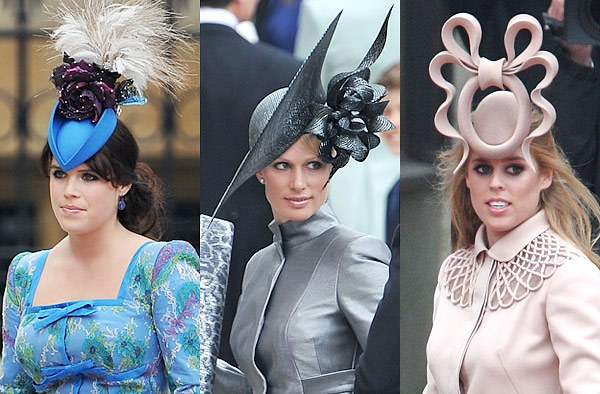 Some of the Fascinator s at the Royal Wedding on Friday were wild! I like  the idea of them. They are really just hair bands with