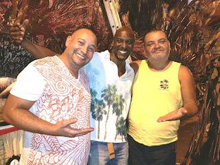 Sandro Gomes, Iran Gomes e Jorge Caribé