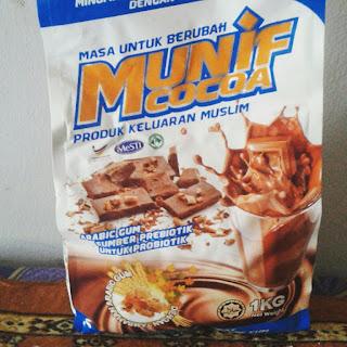 Munif Cocoa Minuman Malt Coklat