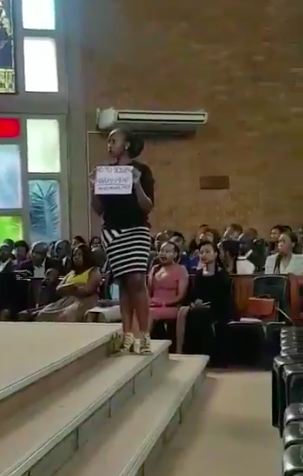 Video showing Women allegedly protesting Sexual Abuse from Church Leader