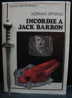 Portada del libro Incordie a Jack Barron, de Norman Spinrad