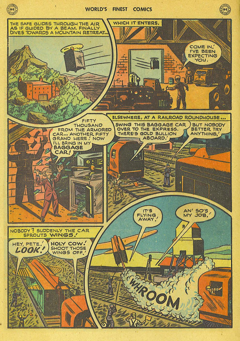 Read online World's Finest Comics comic -  Issue #34 - 46