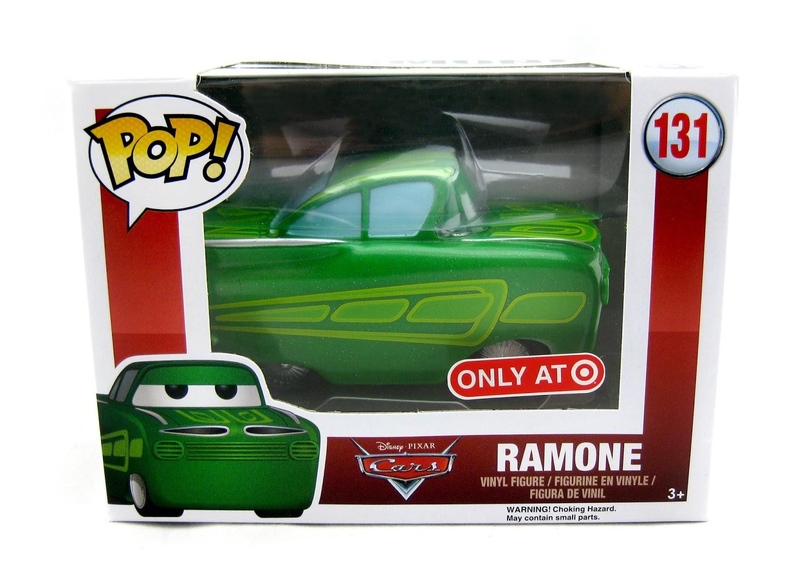 Dan The Pixar Fan Cars Green Ramone Funko Pop Target Exclusive