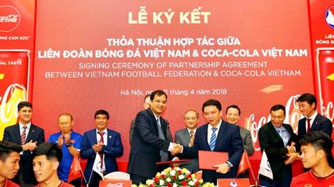 VFF ký thỏa thuận hợp tác với Coca-Cola Việt Nam