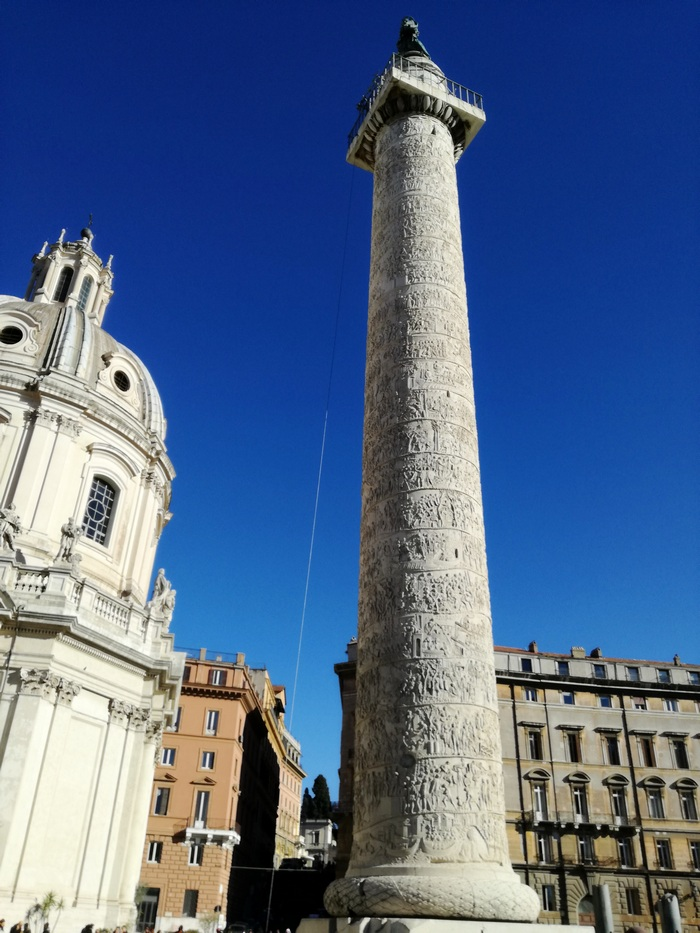 colonna traiana rome roma