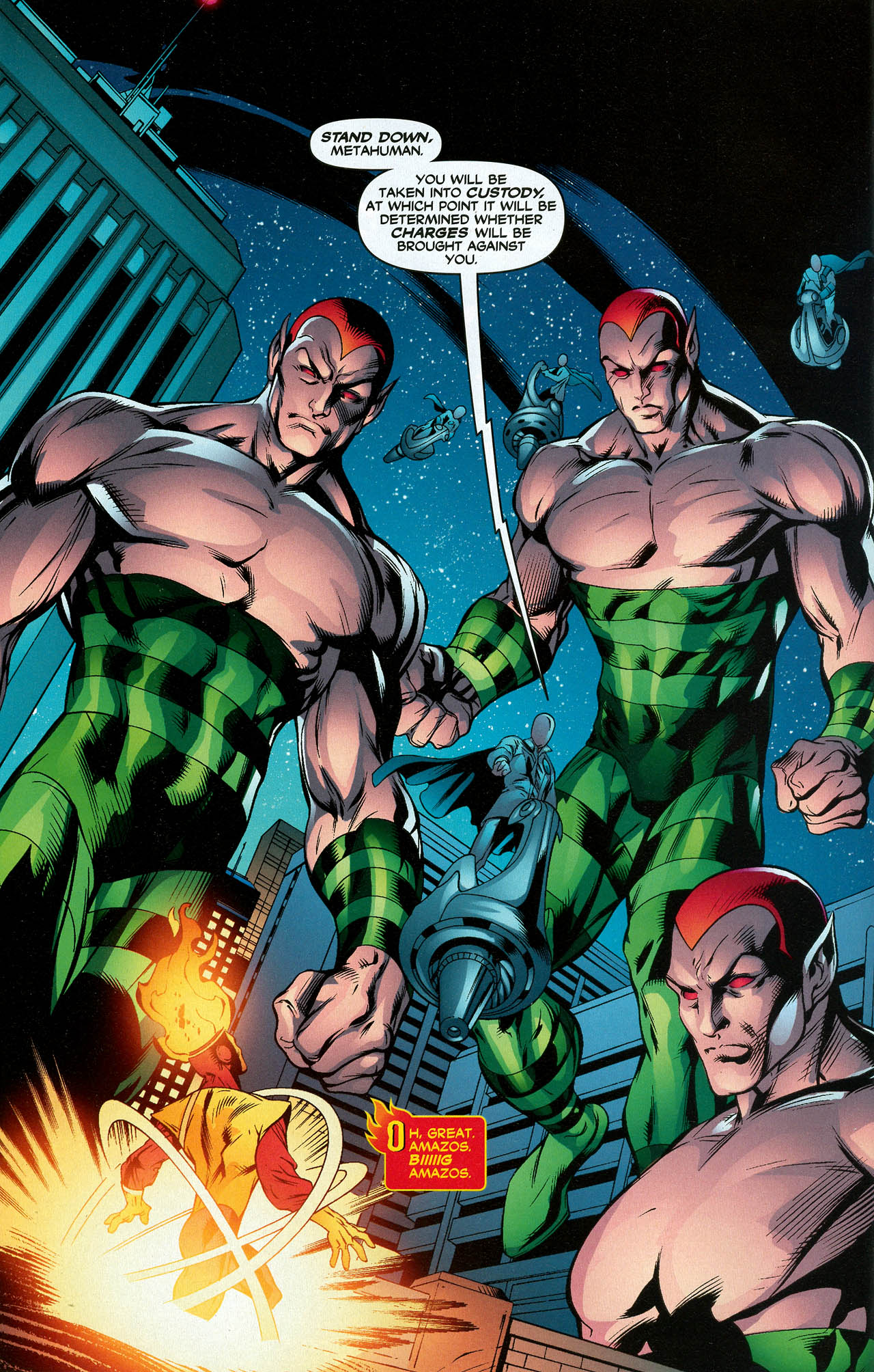 Read online Trinity (2008) comic -  Issue #20 - 14