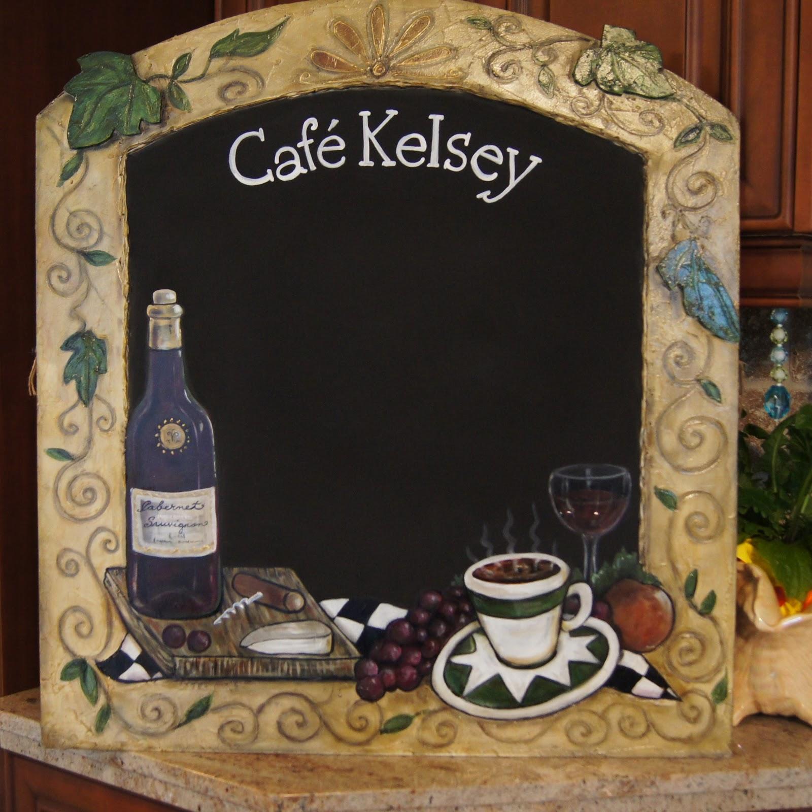 Kitchen Chalkboard: ZeeZee Chalkboards * Classy Custom Chalkboards For Home