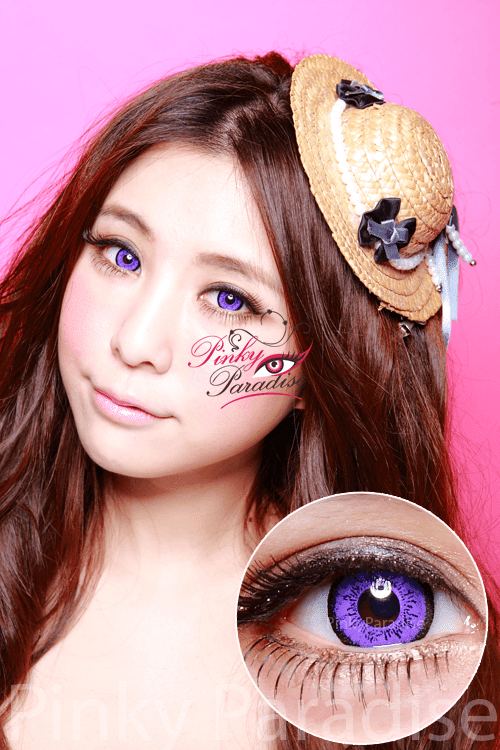 EOS Dolly Eye Violet Circle Lenses (Colored Contacts)