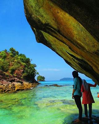 Pulau Kalimatung Tapanuli tengah